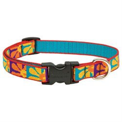 Lupine Crazy Daisy Adjustable Collar