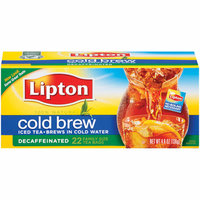 Lipton Cold Brew Decaffeinated Pitcher Size Tea Bags