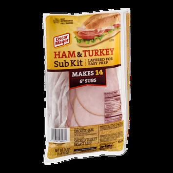 Oscar Mayer Ham & Turkey Sub Kit