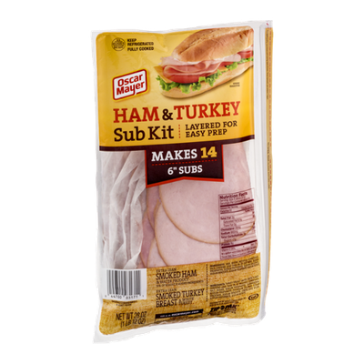 Oscar Mayer Ham & Turkey Sub Kit