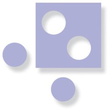 Fiskars F2300-2352 1/4 Hand Punches Circle