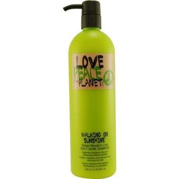 Tigi Love, peace & The Planet, Walking On Sunshine Ginger Mandarin Lime Shampoo, 25.36-ounce