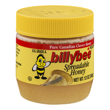 Billy Bee Spreadable Honey Pure Canadian Clover