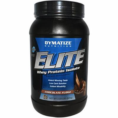 Dymatize Nutrition Elite Whey Protein, Rich Chocolate, 2 Pound