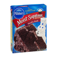 Pillsbury Moist Supreme Cake Mix Devil's Food