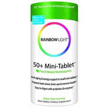 Rainbow Light 50+ Mini-tablet Multivitamin, 360 Mini-tablets (180x2)