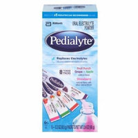 Pedialyte Oral Electrolyte Powder, Assortment 8 ea Pack of 6