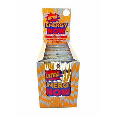 Ultra Energy Now Herbal Energy Booster Herbal Supplement 24 Packets
