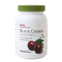 GNC SuperFoods Black Cherry Concentrate, 250mg, Caps 120