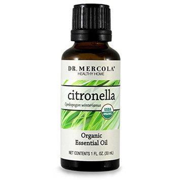 Dr Mercola Organic Citronella Essential Oil - 30ml