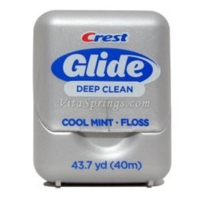 Crest Glide Dental Floss, Deep Clean, Mint