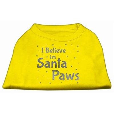 Ahi Screenprint Santa Paws Pet Shirt Yellow XXL (18)