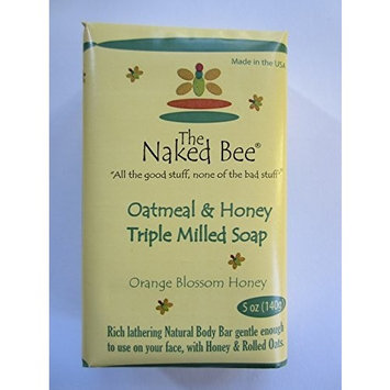 The Naked Bee Triple Milled Bar Soap 5 Oz.