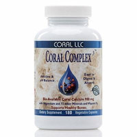 Coral LLC Complex Calcium Capsules 900 mg, 180 Count