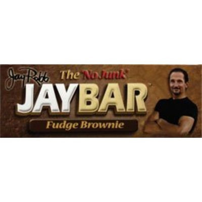 Jay Robb The No Junk JayBar Fudge Brownie -12 Bars - 1 lb, 8 OZ (1 Bar - 57 grams)