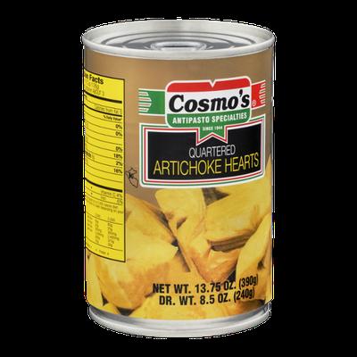 Cosmo's Quartered Artichoke Hearts