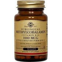 Solgar Methylcobalamin Vitamin B12 Nuggets, 1000 mcg, 180 Count...