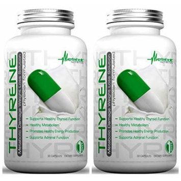 Metabolic Nutrition Thyrene 30 Capsules (2 Pack)