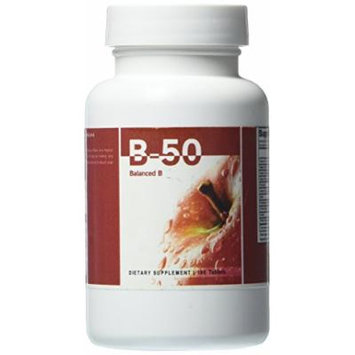Eden Pond B-50 Potency Extreme Supplement, 100 Count