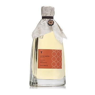 Thymes Lotus Santal Bath Oil