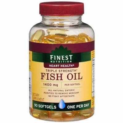 Finest Nutrition Fish Oil 1400mg Softgels 90 fl oz