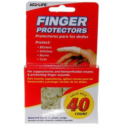 Health Enterprises Rubber Finger Cots, 40 Count