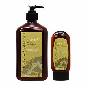 Amir Argan Oil Moisturizier 18oz & Hand Protector 4oz