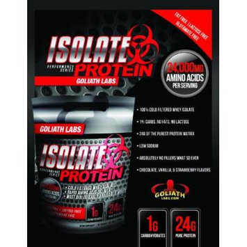 Goliath Labs Isolate Protein 10 Lbs (Strawberry)