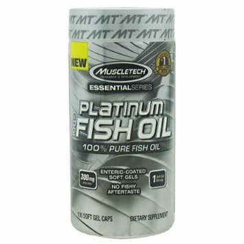 100% Platinum Fish Oil, 100 Soft Gel Caps