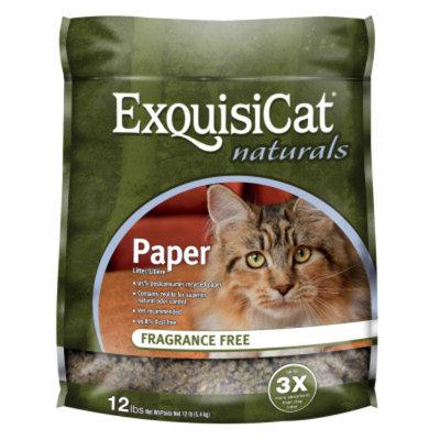 ExquisiCatA Naturals Paper & Zeolite Cat Litter