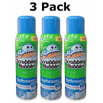 Scrubbing Bubbles Bathroom Cleaner Color Power Technology, 20 Ounce (3 Pack)