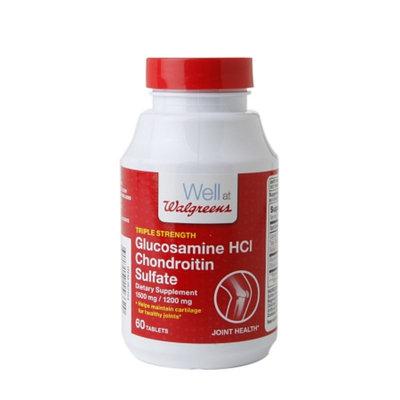 Walgreens Glucosamine HCl Chondroitin Sulfate