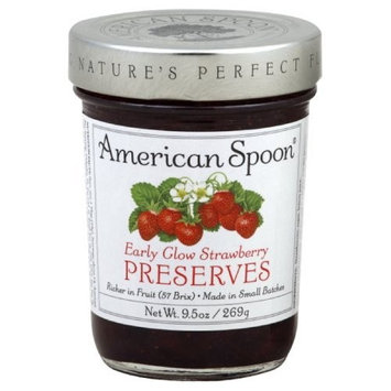 American Spoon Preserves, Early Glow Strawberry, 9.5-Ounce (Pack of 3)