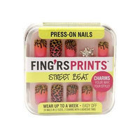 Fing'rs Prints Press-on Nails, Street Beat - Knotty Girl