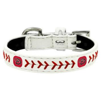 GameWear Arizona Diamondbacks Classic Leather Toy Baseball Collar