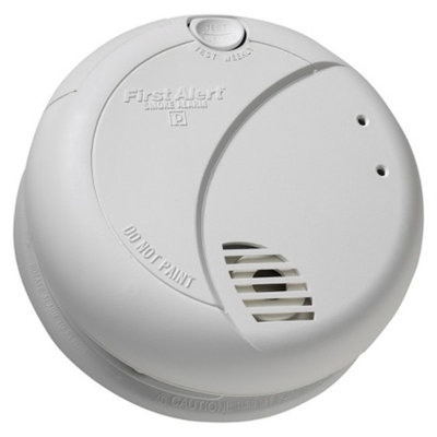 First Alert Hardwired Photoelectric Smoke Alarm