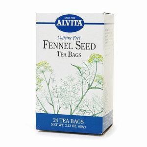 Alvita Caffeine Free Fennel Seed Tea Bags