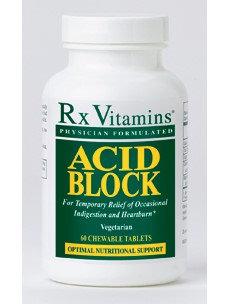 Rx Vitamin's Acid Block 60 chew tabs
