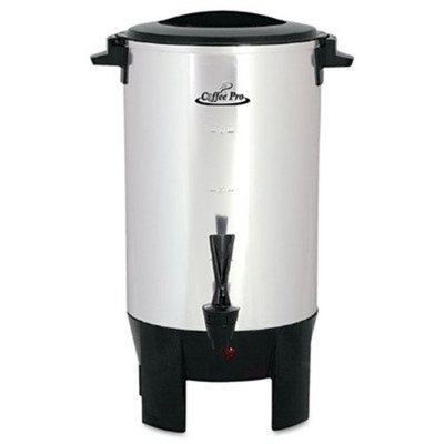 Original Gourmet Food Co. Coffee Pro Percolating Urn Size: 30 cup
