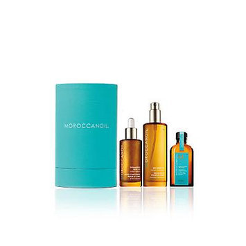 Moroccanoil Luxurious Oils Cylinder Gift Set - No Color
