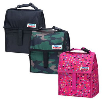 PackIt Freezable Gel-Liner Lunch Bag (Buffalo Check)