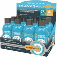 Play Again Now Hyaluronic Acid with MSM Oral Liquid Gel, 3 Ounce, 12 Count