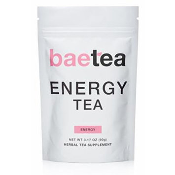 Baetea Energy Tea: Naturally Boost Your Energy, 25 Servings, with Guarana & Potent Traditional Organic Herbs, Ultimate Way to Re-Vitalized & Focus The Mind