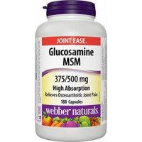 Glucosamine / MSM - 375 mg / 500 mg - 180 capsules
