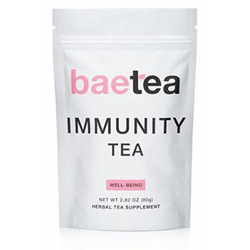 Baetea Immunity Tea: Natural Immune Support, 26 Servings, with Potent Traditional Organic Herbs, Ultimate Way to Keep Your Immune System Strong