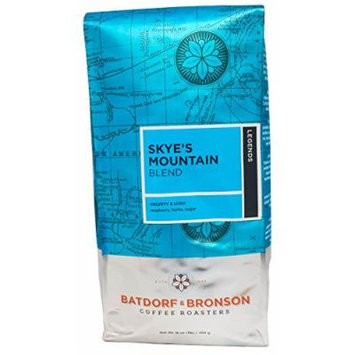 Batdorf & Bronson Coffee Roasters - Skye's Mountain Blend - Roasted Whole Bean Coffee (16oz)