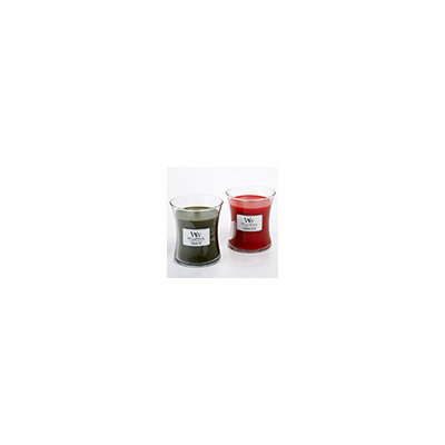 Woodwick Happy Holiday 2-Pack Gift Set