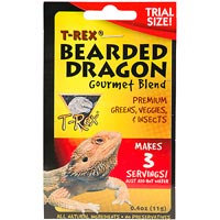 T-Rex Bearded Dragon Gourmet Food Blend, 0.4 oz.