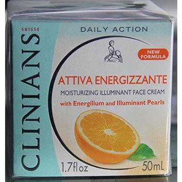 Clinians Attiva Energizzante Moisturizingilluminant Face Cream 1.7 Fl Oz.