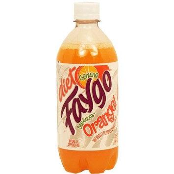 Faygo Diet orange soda pop, caffeine free, 20-fl. oz. plastic bottle